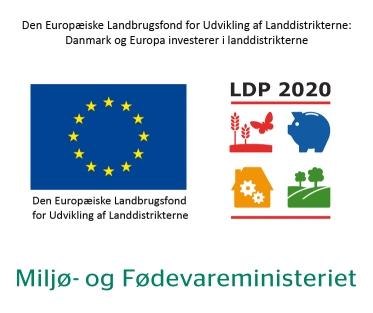 Logo for EU-støtte til landdistrikterne